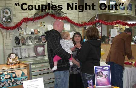 friends at stoecker jewelers couples night out event on dec 1st 2011