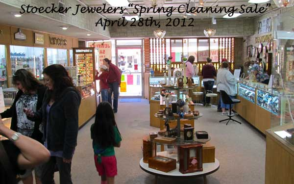 Stoecker Jewelers Spring Cleaning Sale
